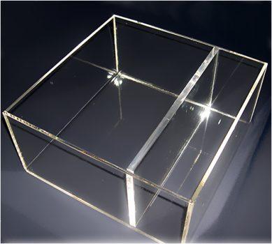 Scatole e Contenitori in plexiglas